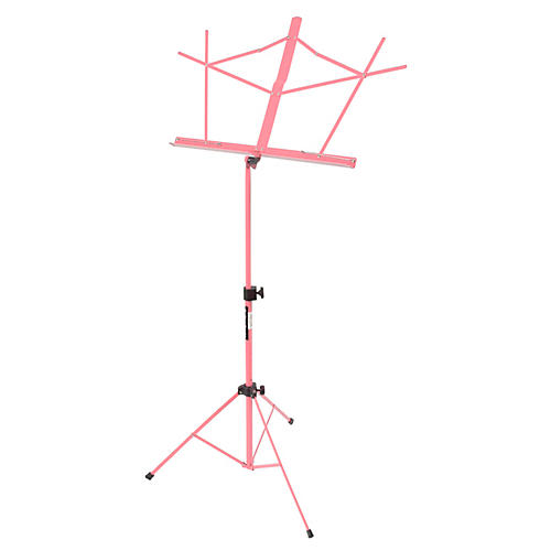 On-Stage Compact Sheet Music Stand Pink