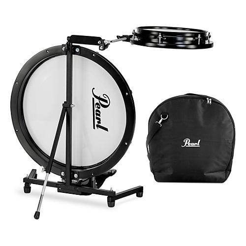 Pearl Compact Traveler 2-Piece Drum Kit with Bag