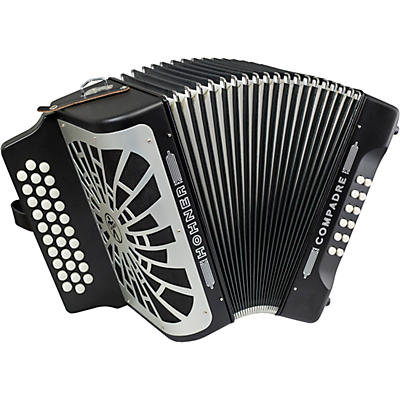 Hohner Compadre FBbEb with Gig Bag - Silver Grille