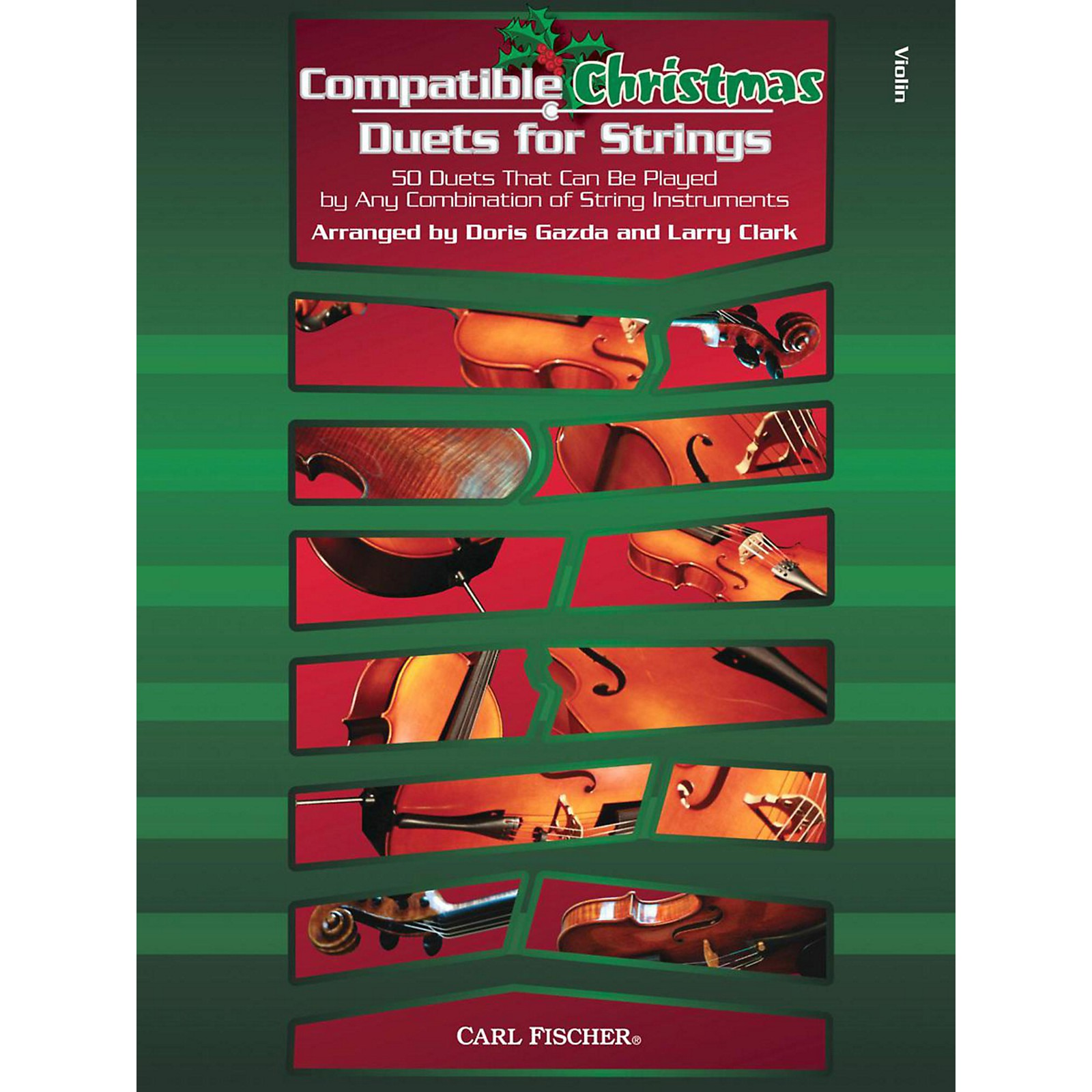Carl Fischer Compatible Christmas Duets for Strings: Violin