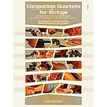 Carl Fischer Compatible Quartets for Strings Book - Bass