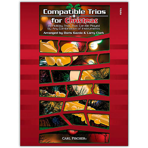 Carl Fischer Compatible Trios For Christmas – Viola