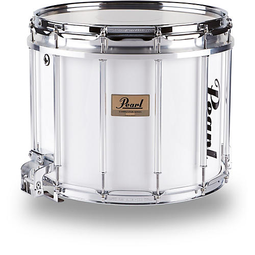 Pearl Competitor High-Tension Marching Snare Drum Condition 1 - Mint White 14 x 12 in. High Tension