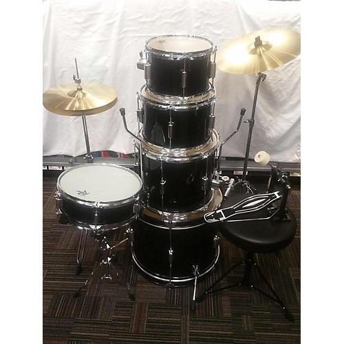Rogue Complete 5-Piece Drum Kit Drum Kit Black