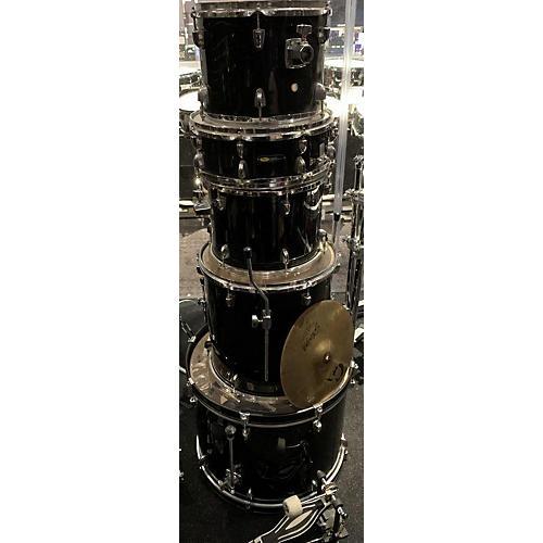 Sound Percussion Labs Complete 5 Piece Drum Kit Black