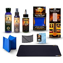 MusicNomad Complete 9-Piece Premium Guitar Care Kit