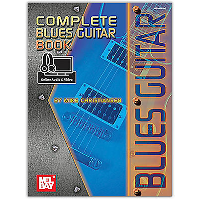 Mel Bay Complete Blues Guitar Book (Book + Online Audio/Video)