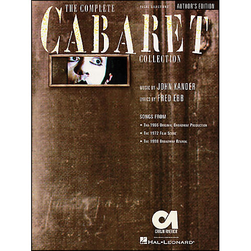 Hal Leonard Complete Cabaret Collection Author's Edition Vocal Selections arranged for piano, vocal, and guitar (P/V/G)