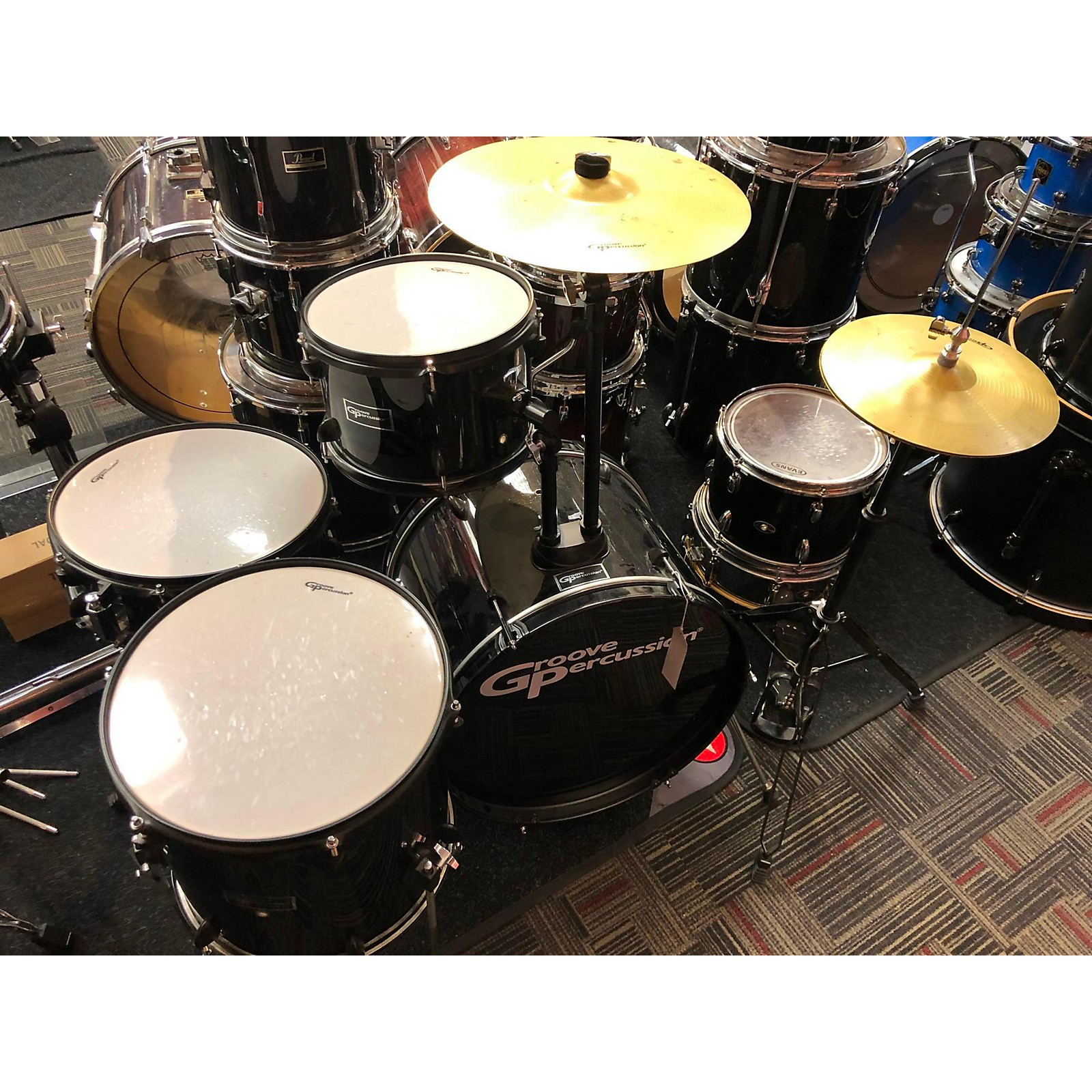 Groove Percussion Complete Kit Drum Kit