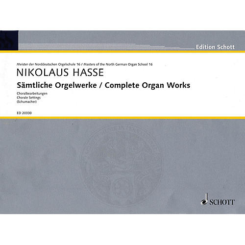 Schott Complete Organ Works Organ Collection Series