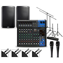Yamaha Complete PA Package with MG12XUK Mixer and Alto TS2 Speakers