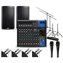 Yamaha Complete PA Package with MG12XUK Mixer and Alto TS2W Speakers