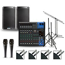 Complete PA Package with MG12XUK Mixer and Alto TS3 Speakers 8