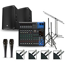 Complete PA Package with MG12XUK Mixer and Electro-Voice EKX Speakers 15