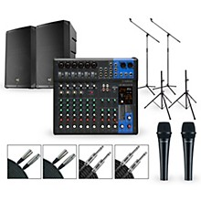 Yamaha Complete PA Package with MG12XUK Mixer and Electro-Voice ELX200 Series Speakers