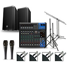 Complete PA Package with MG12XUK Mixer and Electro-Voice ZLX Speakers 12