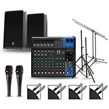 Complete PA Package with MG12XUK Mixer and Electro-Voice ZLX Speakers 15