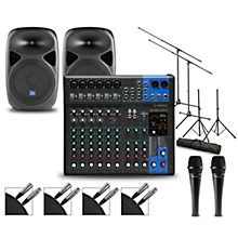 Complete PA Package with MG12XUK Mixer and Gem Sound PBX Speakers 12