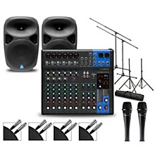 Complete PA Package with MG12XUK Mixer and Gem Sound PBX Speakers 15