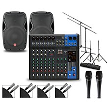 Complete PA Package with MG12XUK Mixer and Harbinger VaRi V1000 Speakers 12