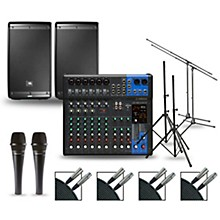 Complete PA Package with MG12XUK Mixer and JBL EON600 Speakers 10
