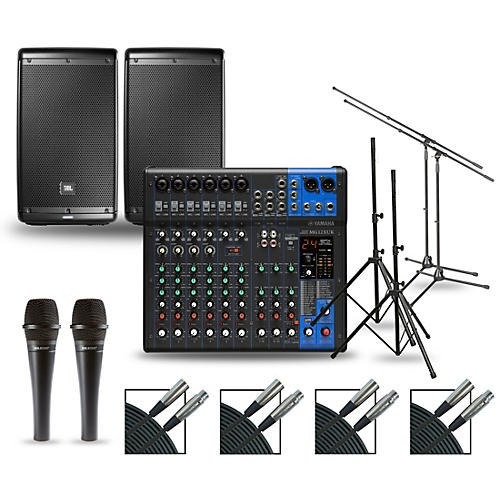 Yamaha Complete PA Package with MG12XUK Mixer and JBL EON600 Speakers 10
