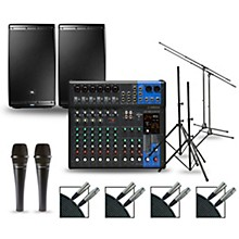 Complete PA Package with MG12XUK Mixer and JBL EON600 Speakers 12