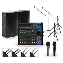 Complete PA Package with MG12XUK Mixer and Mackie Thump Active Speakers 15