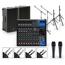 Yamaha Complete PA Package with MG12XUK Mixer and Mackie Thump Boosted Active Speakers