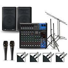 Complete PA Package with MG12XUK Mixer and Peavey Dark Matter Speakers 15