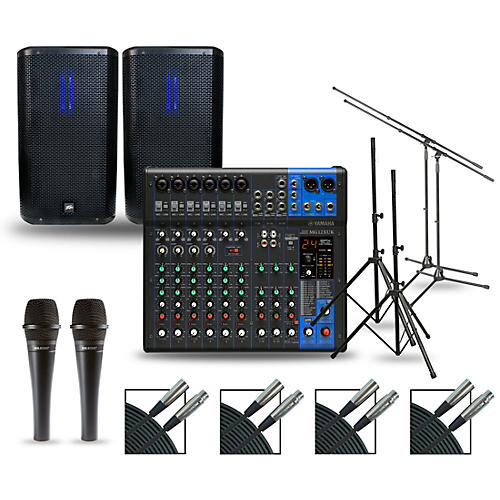 Yamaha Complete PA Package with MG12XUK Mixer and Peavey RBN Speakers