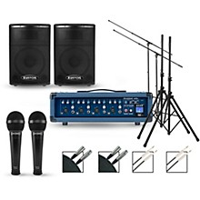 Phonic Complete PA Package with Powerpod 415R Mixer and Kustom KPX Speakers