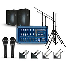Phonic Complete PA Package with Powerpod 630R Plus Mixer and Gemini GSM Speakers