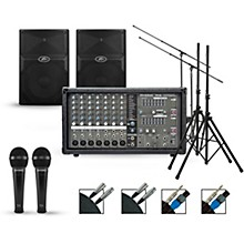 Phonic Complete PA Package with Powerpod 780 Plus Mixer and Peavey PVX Speakers
