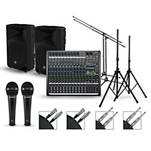 Mackie Complete PA Package with ProFX12v2 Mixer and Mackie Thump Speakers