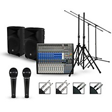 PreSonus Complete PA Package with StudioLive AR16 Mixer and Mackie Thump Speakers