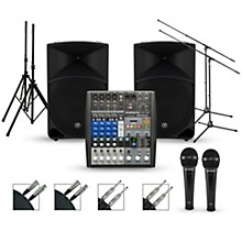 PreSonus Complete PA Package with StudioLive AR8 Mixer and Mackie Thump Speakers
