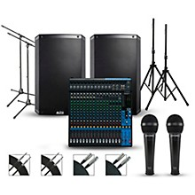 Yamaha Complete PA Package with Yamaha MG20XU 20-channel Mixer and Alto Truesonic 2 Series Speakers