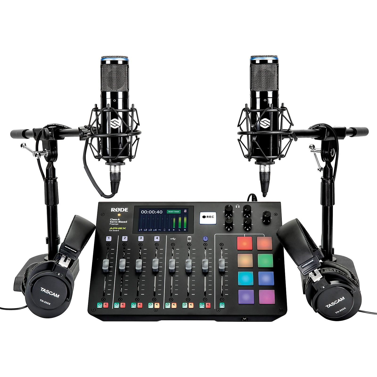 Rode Complete Podcaster Recording Bundle