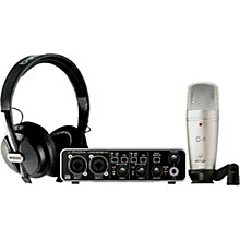 Behringer Complete Recording Bundle with High Definition USB Audio Interface, Condenser Microphone, Studio Headphones and More