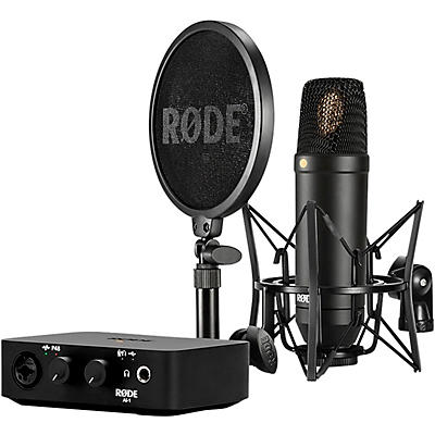 Rode Complete Studio Kit with NT1 Microphone and AI-1 Interface