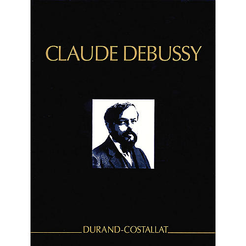Editions Durand Complete Works, Volume 2 Critical Edition Full Score, Hardbound with critical commentary by Debussy