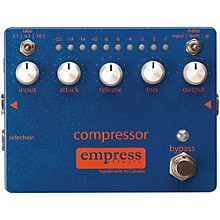 Open Box Empress Effects Compressor Analog Compression Guitar Effects Pedal