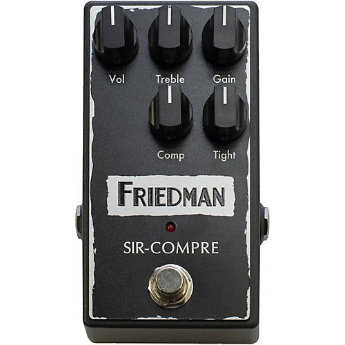 Friedman Compressor Effect Pedal with Built-In Overdrive