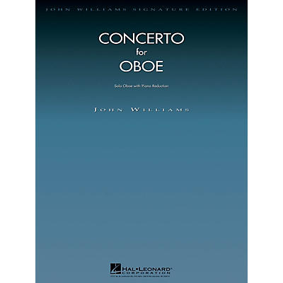 Hal Leonard Conc for Oboe (Oboe with Piano Reduction) John Williams Signature Edition - Woodwinds Series