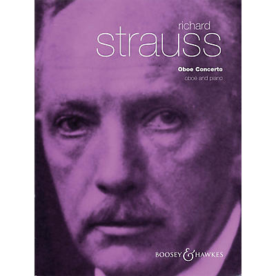 Boosey and Hawkes Conc (for Oboe & Piano Reduction) Boosey & Hawkes Chamber Music Series by Richard Strauss