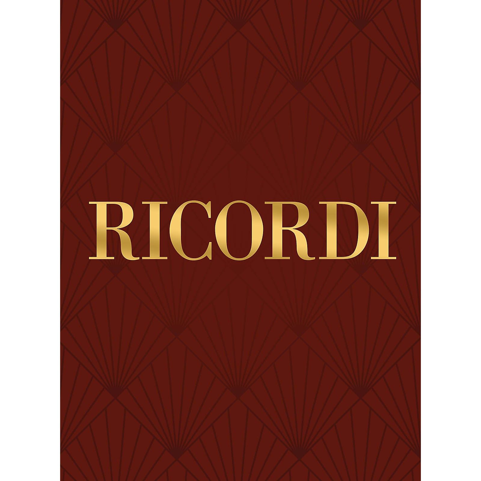 Ricordi Conc in A Min for Oboe Strings and Basso Cont RV461 Woodwind Solo by Vivaldi Edited by Vilmos Lesko