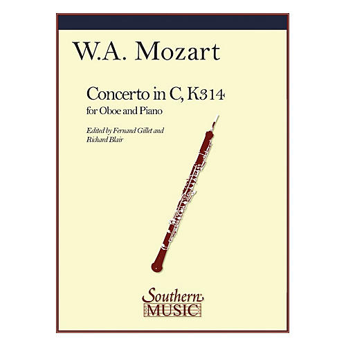 Southern Conc in C, K314 Southern Music Series by Wolfgang Amadeus Mozart Arranged by Richard Blair