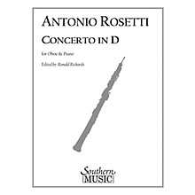Southern Conc in D (Oboe) Southern Music Series Arranged by Ronald Richards