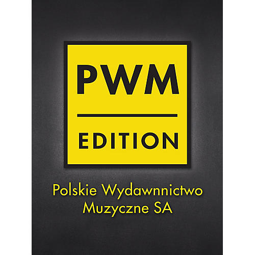 PWM Conc in E Min Op. 11 for Piano and Orch (Concert Version) PWM Composed by Chopin Edited by Jan Ekier